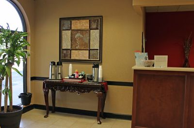 Cottonwood Suites Savannah coffee station