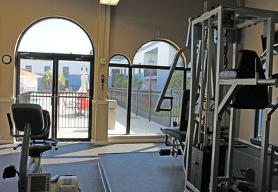 Cottonwood Suites Savannah lobby areaCottonwood Suites Savannah fitness center