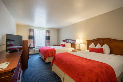 Cottonwood Suites Savannah double room