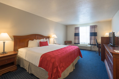 Cottonwood Suites Savannah king room